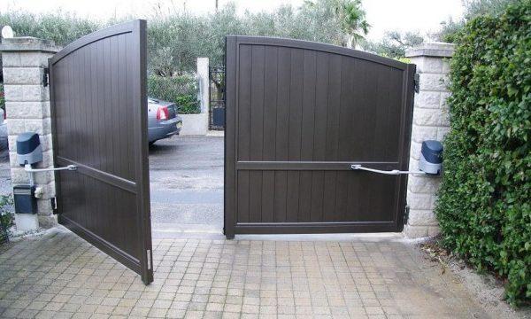 Sécuriser la maison avec un portail motorisé